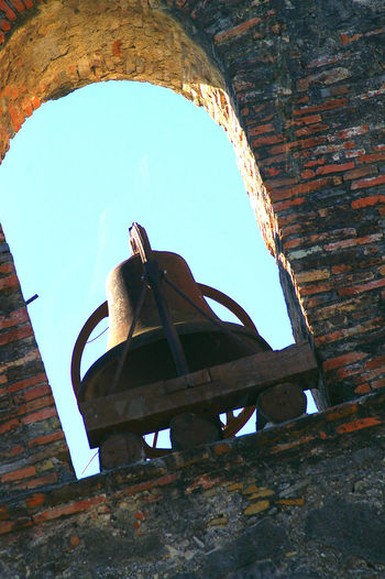 Mission Bell Bell Tower Broken Church Bell Tower Deterioration Historical Building Historical Place Mission Bell Obsolete Ruined