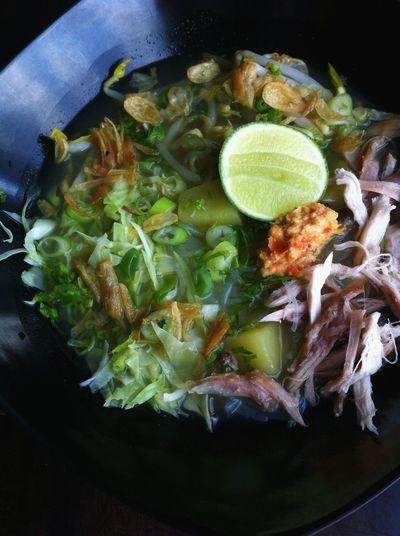 Lunch.. Chicken soto