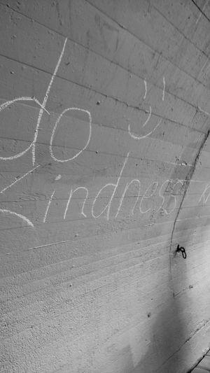 Dokindness Kindness Strangers Making Happy Tunnel Onawalk Practice Kindness