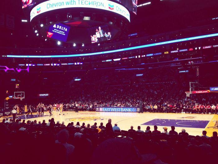 Lakers Game !!!! Having Fun