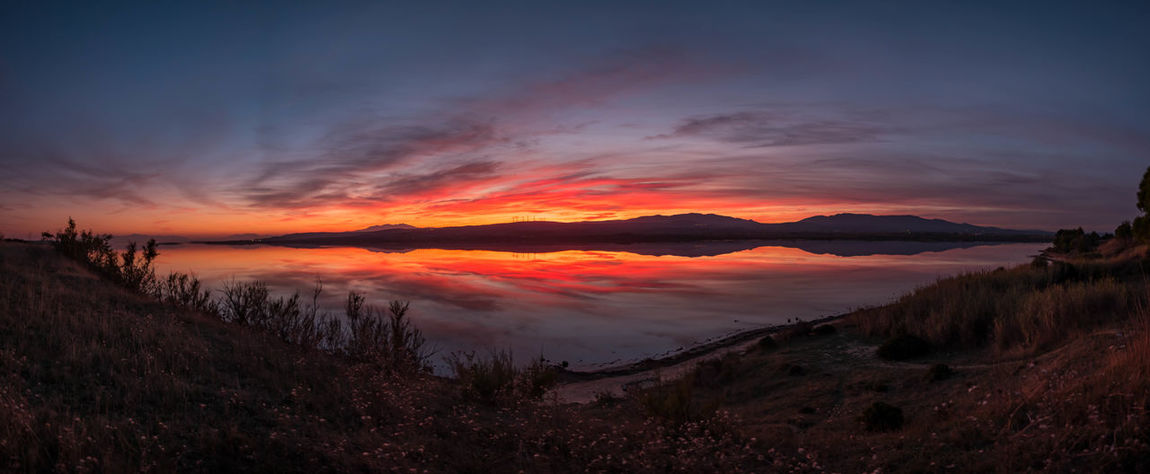 Perspectives On Nature Reflection Sky And Clouds Colorful Fitougraphie Horizon Over Water Laurent Vankilsdonk Sunset