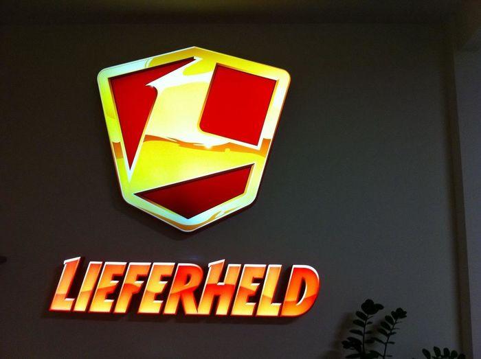 Having fun at Lieferheld HQ Having Fun