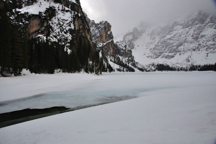Beauty In Nature Cold Temperature Ice Landscape Mountain Nature No People Outdoors Scenics See Snow Winter