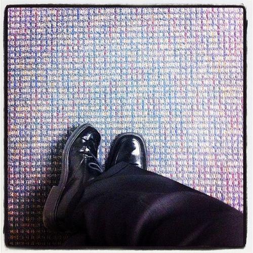 Press room floor.