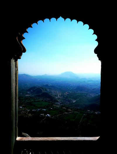 Sky Blue History City Indoors  No People Architecture Day Cityscape Hight Cityview City Street Udaipur Fort Travel Tour