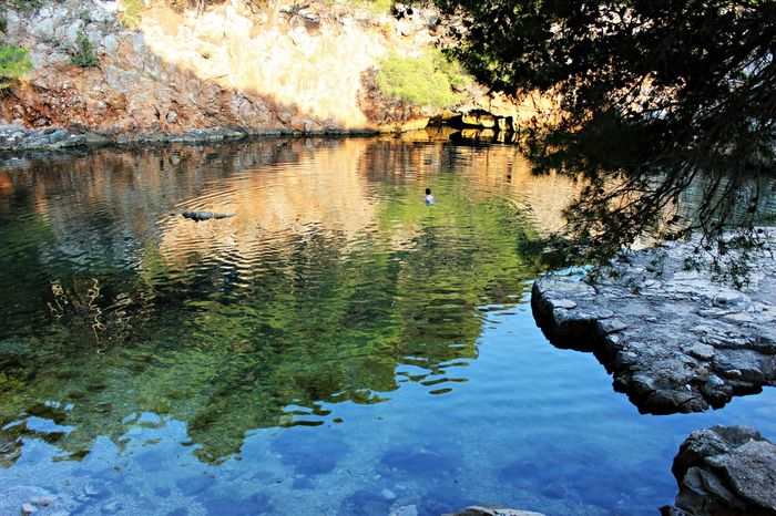 Dead Sea lake, Lokrum Island, Dubrovnik, Croatia Beauty In Nature Day Dead Lake Lake Lake View Lakeview Lokrum  Nature Outdoors Plant Reflection Scenics Stone Tranquil Scene Tranquility Tree Water Waterfront