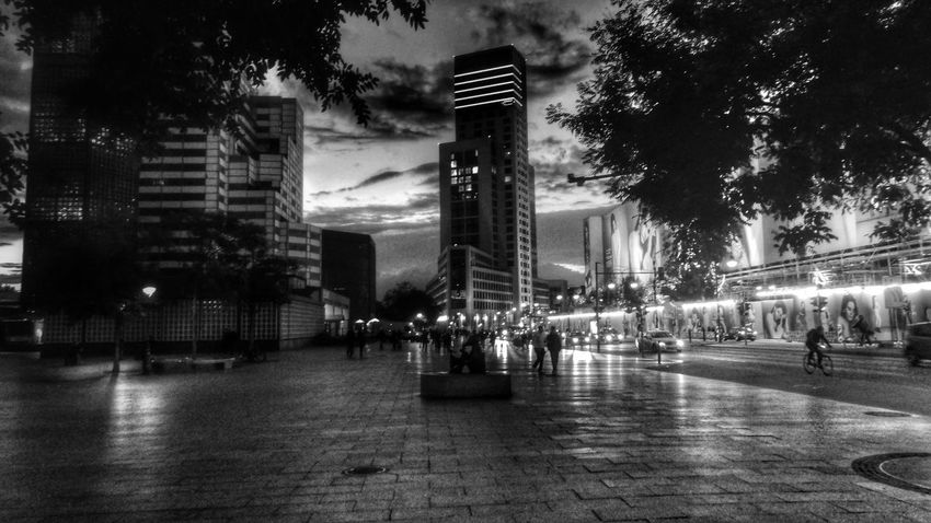 Berlin Light And Shadow Cityscapes Blackandwhite