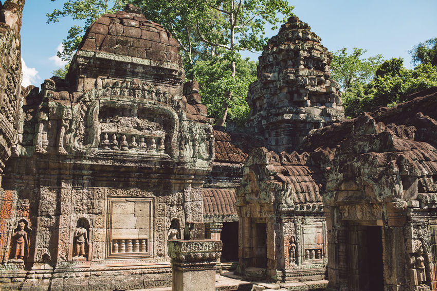Siem Reap Cambodia Angkor Architecture Religion Belief Built Structure Place Of Worship Spirituality Building The Past Building Exterior History Travel Destinations Tourism Ancient Travel Ancient Civilization Old Old Ruin Day No People Archaeology Outdoors Ruined