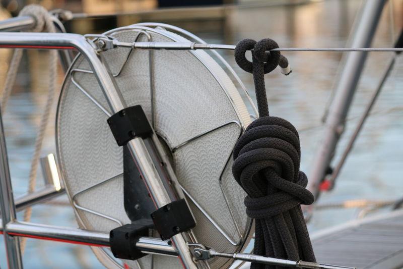 Bootszubehör Leine Rettungsleine Rettungsschwimmer Sicherheit Sicherheitsleine Meerblick Rettungsboot Rettungsring