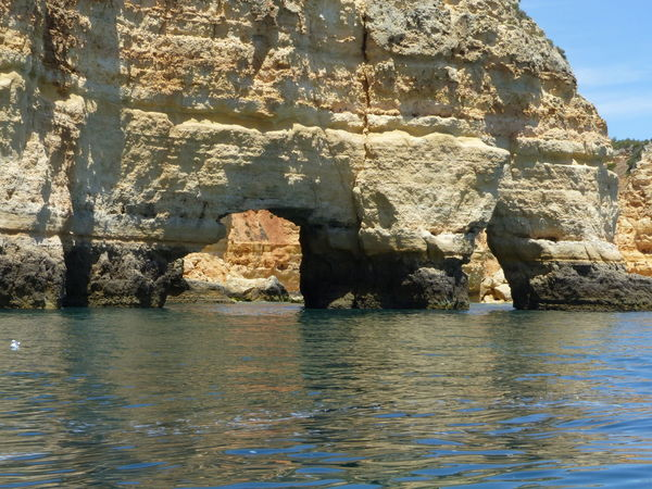 Beauty In Nature Boat Trip Caves Day Nature No People Outdoors Water Carvoeiro Praia De Carvoeiro