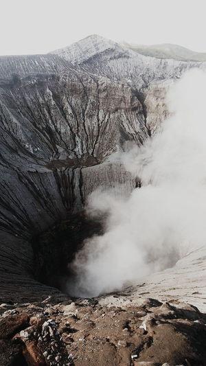 First Eyeem Photo Mountain INDONESIA Java Jogja Crater Smoke