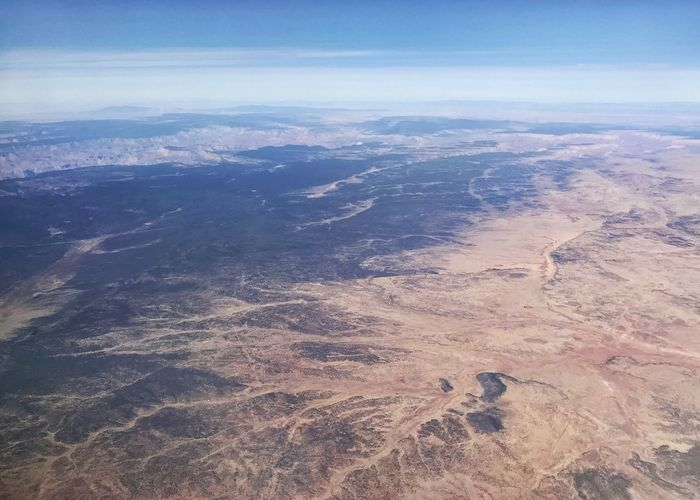 Desert mountains Mountains Western USA Erosion Drainage Desert Colors Desert Arid Landscape Rugged Landscape Aerial View Landscape Scenics Nature Beauty In Nature Tranquil Scene Outdoors Remote Physical Geography Mountain Mountain Range Arid Climate View Into Land Sky