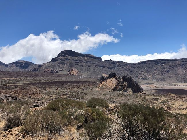 Teide National Park, Tenerife, 🇪🇸 SPAIN Tenerife Nofilter Volcano Teide Teide National Park Sky Cloud - Sky Scenics - Nature Nature Environment Tranquil Scene Tranquility Land Landscape Beauty In Nature Mountain Sunlight