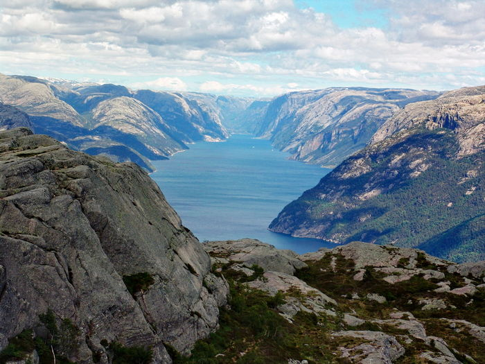 Betterlandscapes Nature Norway Fjord Nature_collection Betterlandscapes Nature Norway Fjord Nature_collection Cloud - Sky Scenics - Nature Sky Mountain Range Mountain Water Beauty In Nature Tranquility Tranquil Scene Nature Environment Landscape Non-urban Scene Rock Sea Day Remote No People Outdoors Idyllic
