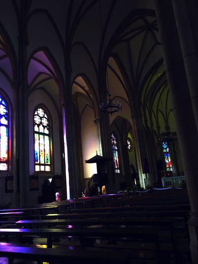 Human Meets Technology Catedral Riodejaneiro EstiloGótico Luzes Lights
