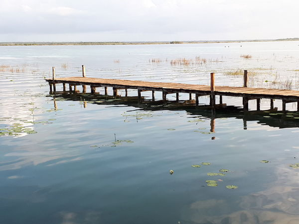 paradisíaco Sea Pier Beach Landscape Beauty In Nature Travel Destinations Horizon Over Water Reflection No People Silence Outdoors Nature