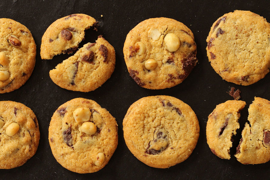Chocolate Chip Macadamia Cookies Baking Cookies Cookies Nuts Photoshoot Baked Baking Black Background Chocolate Chip Chocolate Chip Cookie Close-up Cookie Day Delicious Food Food And Drink Freshness Homemade Indoors  Indulgence Macadamia Ready-to-eat Still Life Sweet Food Temptation Yummy