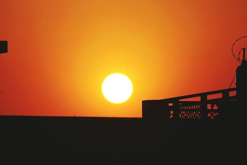 Thw final sunset of 2014