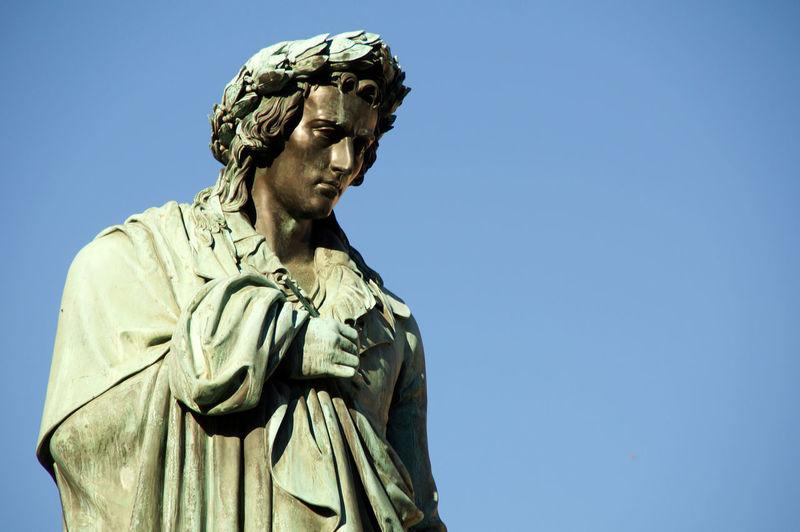 Statue of Friedrich Schiller in Stuttgart - Schillerplace Art And Craft Famous Place Friedrich Schiller Monument Schiller Statue Sculpture Statue