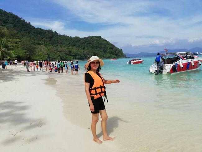 EyeEm Selects Travel Destinations Beach Sand Vacations Lifestyles Cloud - Sky Women