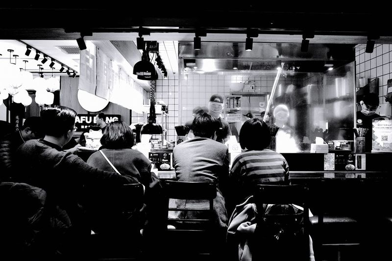 GRlll Ricoh Shanghai Real People Group Of People Men Crowd Indoors  Large Group Of People Adult Group Rear View Women Night Architecture Lifestyles Illuminated Leisure Activity Transportation Nightlife City My Best Photo