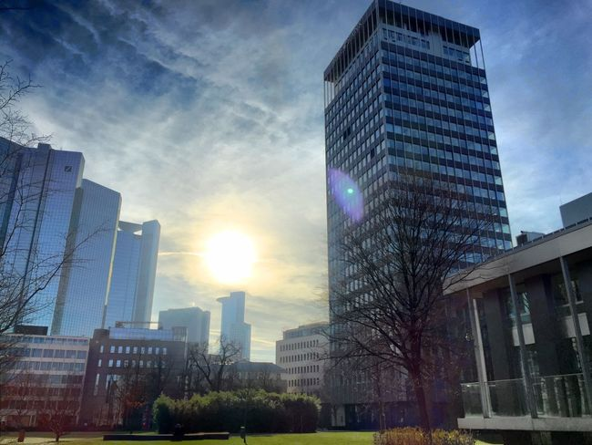 Urban Landscape Soaking Up The Sun Walking Around Sunshine