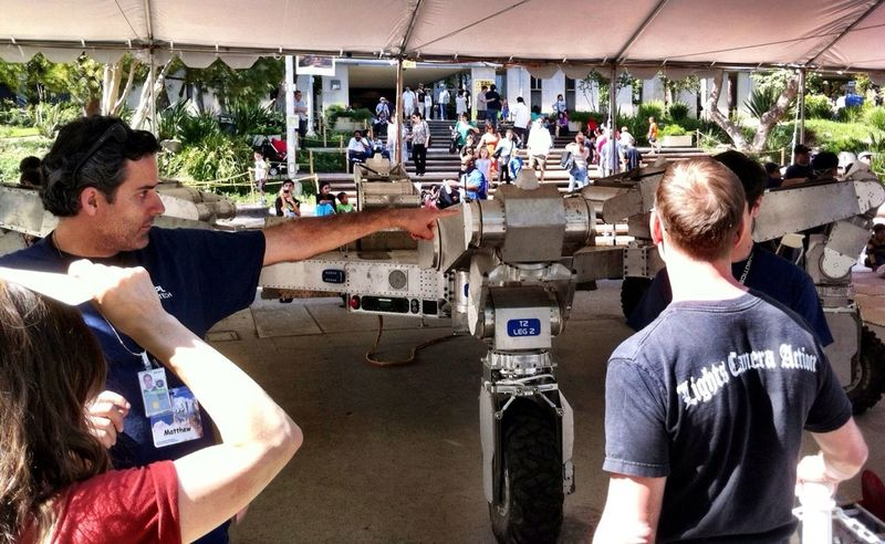 JPL Open House 2012 Robots