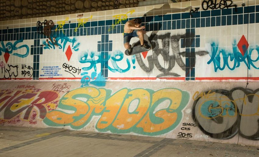 """"""" Wallie """" Graffiti Skateboarding EyeEm Best Shots Eye4photography  Shootermag Getting Inspired Cityscapes People And Places Pool Urban"""