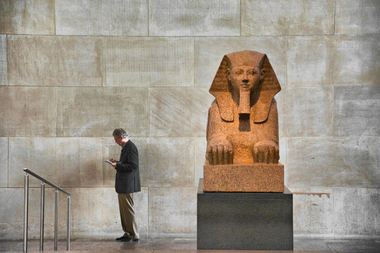 Nikon OpenEdit Museum New York USA New York City United States Egyptian Travel Destinations Sculpture Statue Men Architecture Art