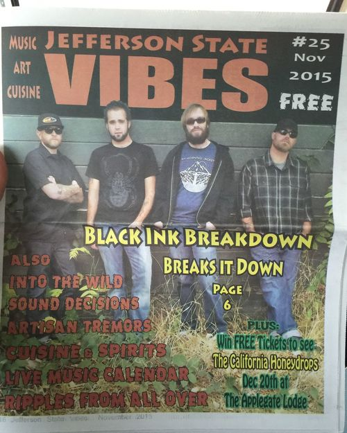 Well look what i found at the supermarket today. ;) Black Ink Breakdown Band Bands Music Musician Musicians That's Me Check This Out Enjoying Life Vibes Magazine Tattoo Press Magazine