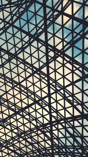 Roof Grid Hexagon Honeycomb Triangle Shape Architectural Detail