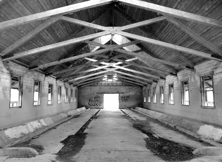 Northern State Mental Hospital, Sedro-Woolley Washington, USA Abandoned Abandoned Buildings Abandoned Places Angle Architecture Architecture Barn Blackandwhite Built Structure Ceiling Day Design History Indoors  Interior Design Monochrome No People Old Old Barns Old Buildings Old Town Sedro-Woolley Standing Washington Wood