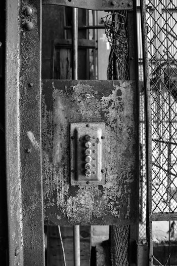 Abandoned grain silo and mill Bradley Olson Bradleywarren Photography Backgrounds Background Vintage Vintage Style Old Old-fashioned Old Buildings Old Ruin Abandoned Abandoned Places Abandoned & Derelict Abandoned Buildings Copy Space Copyspace Room For Text No People The Way Forward Metal Damaged Safety Decline Rusty Deterioration Security Day Run-down Close-up Obsolete Architecture Protection Fence Weathered Built Structure Outdoors Electricity  Power Supply Ruined Button Buttons Light Switch