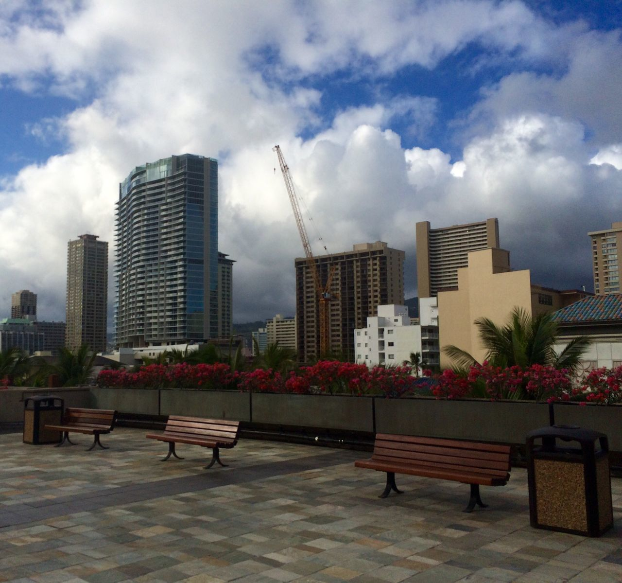 architecture, skyscraper, city, building exterior, sky, modern, cityscape, built structure, cloud - sky, outdoors, no people, growth, urban skyline, day