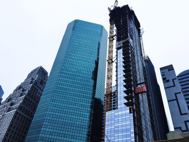 Low Angle View Sky Architecture Built Structure Building Exterior Tall - High Office Building Exterior Clear Sky Skyscraper Building Nature City Day Modern Office No People Tower Outdoors Travel Destinations Travel