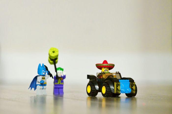 Batman, who's in the bat mobile?? Devious Chancho! At least the joker had a good laugh. Batman Joker LEGO Batmobile Legophotography