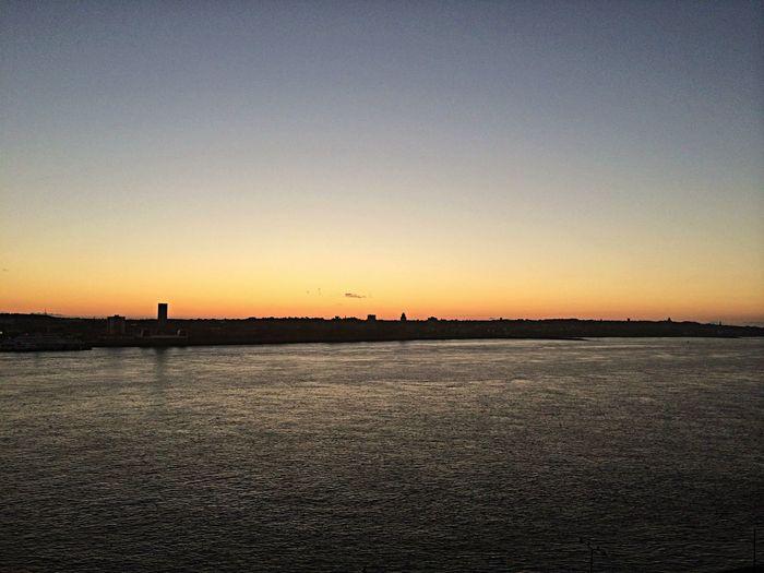 Sunset No Filter River