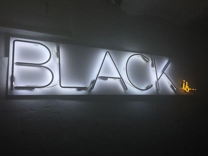 Black is... everything. Black Matteprojects Brooklyn Brooklyn Hangar New York NYC
