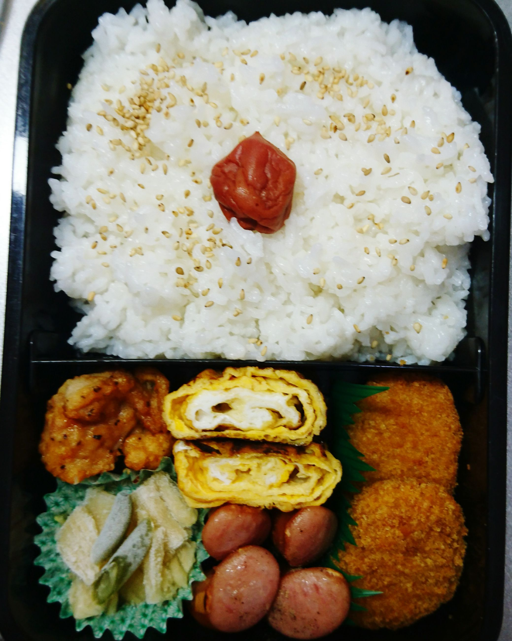 food and drink, food, freshness, rice - food staple, indoors, no people, ready-to-eat, close-up, directly above, healthy eating, day