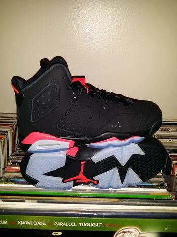 Air Jordan 6 Black/Infared Air Jordan Air Jordan 6 The Purist (no Edit, No Filter) Sneakers
