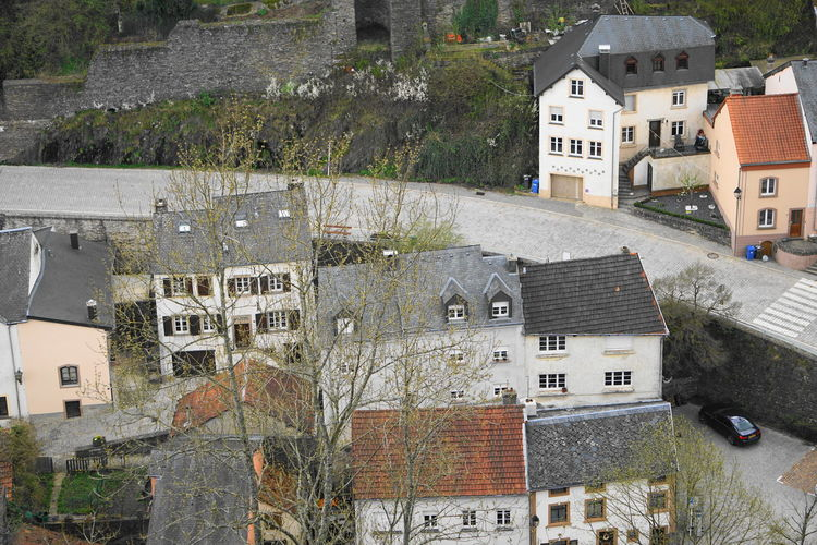 houses Luxembourg Travel Photography Architecture Building Building Exterior Built Structure Car City Day High Angle View House Mode Of Transportation Motor Vehicle Nature No People Outdoors Plant Residential District Roof Town TOWNSCAPE Transportation Travel Destinations Tree Vianden