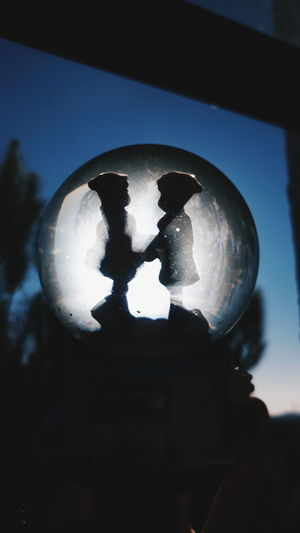 snow globe... 💕 Snow Globe #Blue #photography #fly #Loveeeeee #KeepSmiling #EyeEmNewHere #Heart #love #bluesky #cristmas EyeEm Ready   AI Now