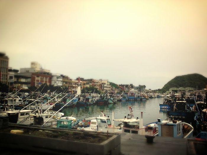 【6/13小旅行】南方澳漁港吃新鮮的海鮮。