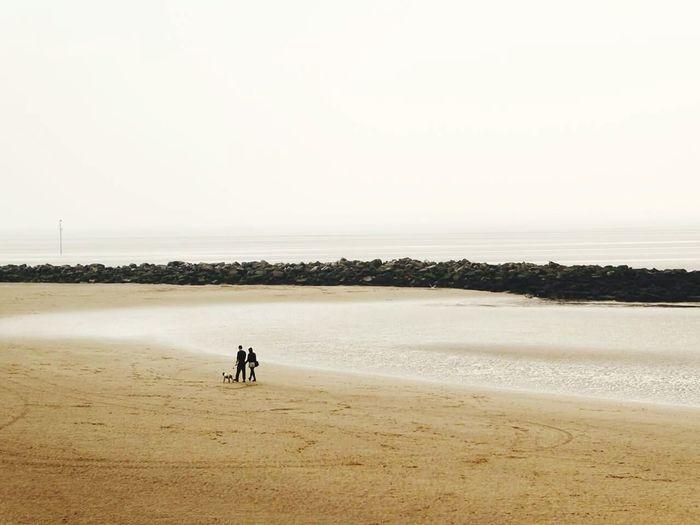 Beech, people, water, coast First Eyeem Photo