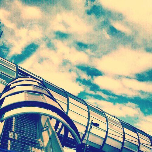Footscray Train Station.