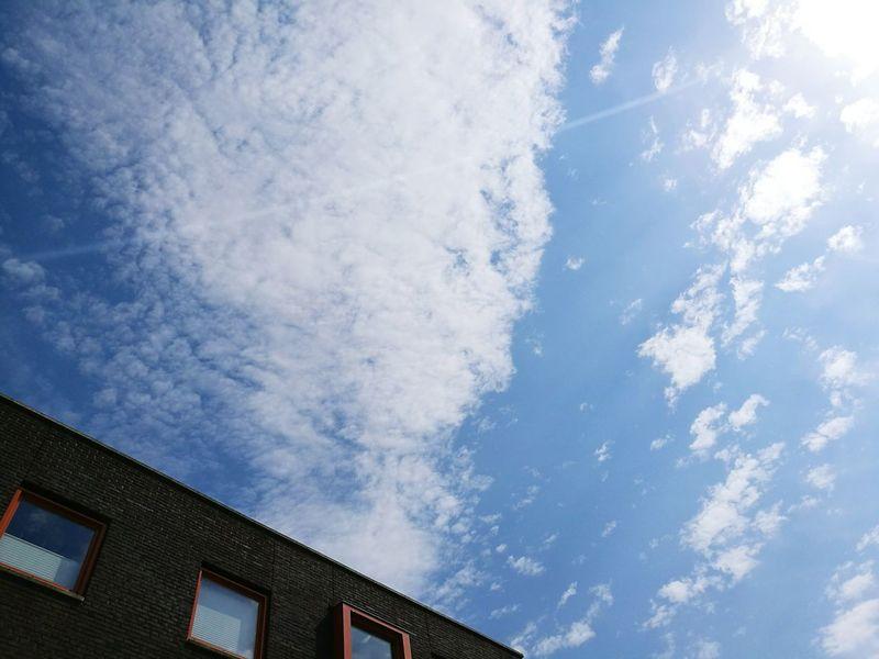 Blusky Sunnyday☀️ Beautiful Day Clouds And Sky EyeEm Best Shots Blue Sky