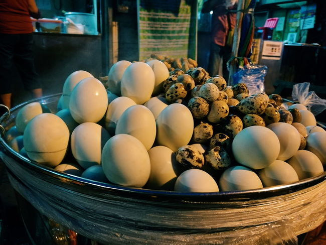 Balut Egg Food Raw Food No People Healthy Eating Food Staple Market Variation Freshness Food And Drink Retail  Abundance For Sale Store Large Group Of Objects Consumerism Close-up Vehicle Breakdown Indoors  Colour Your Horizn Stories From The City