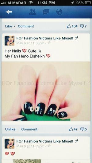 my eyes nails