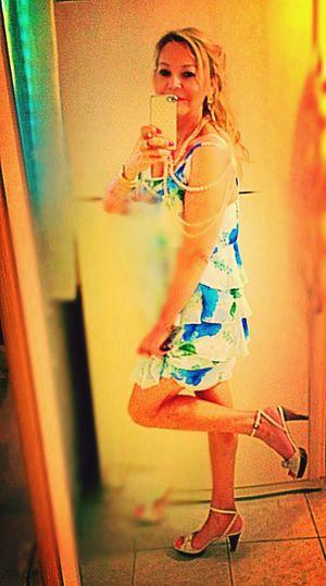 Love My New Shoes  Fashion Selfie Loving Flowers