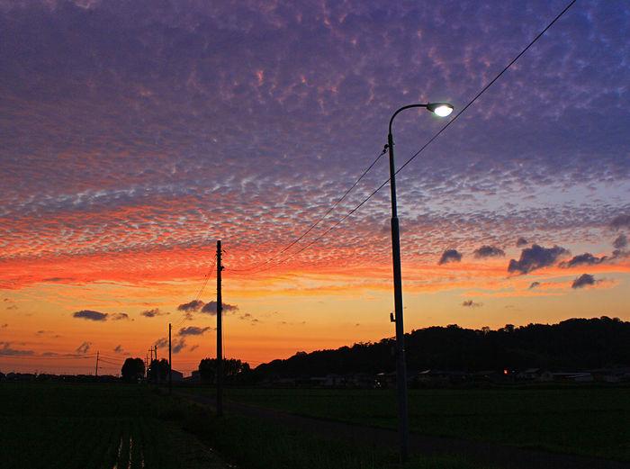 Beauty In Nature Sunset Sky Dramatic Sky Outdoors No People Nature Beauty In Nature Dramatic Sky Cloud - Sky